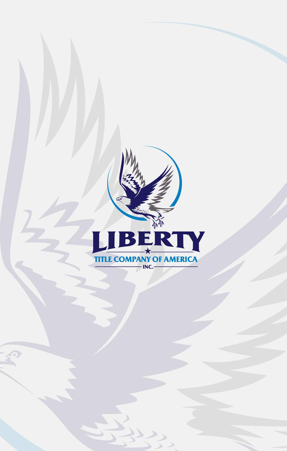 Liberty Title Pocket Folder