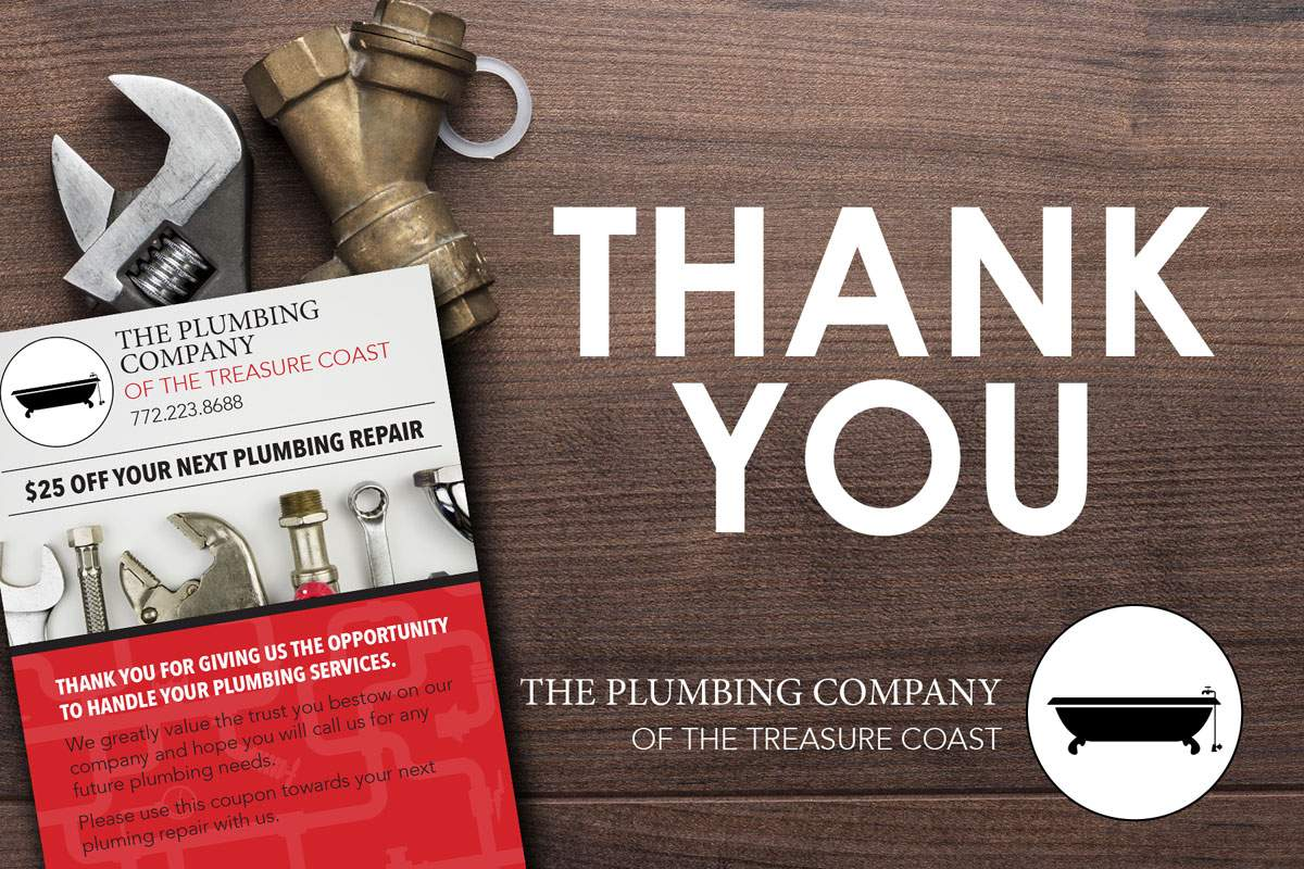 The Plumbing Company Postcard