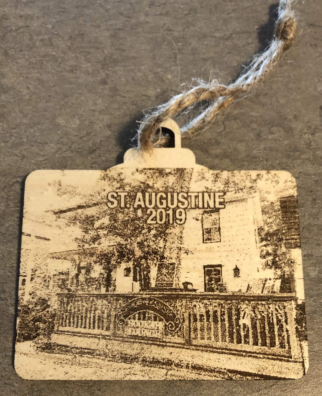 St. Augustine Ornament